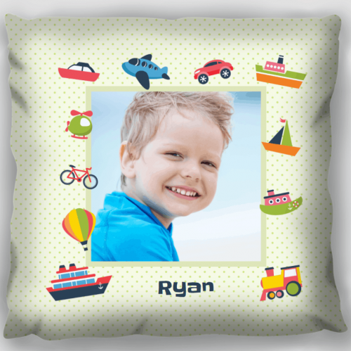 Kids Personalised Pillow