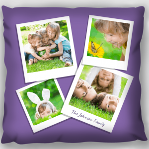 Photo Gift Pillow - Family