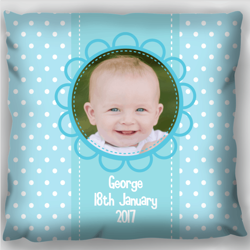 Photo Gift Pillow - Son
