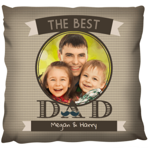 Photo Gift Pillow - Dad