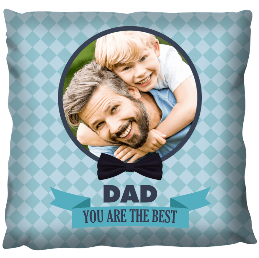 Photo Gift Pillow - For Dad